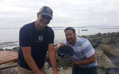 Seafair and Taylor Shellfish - August