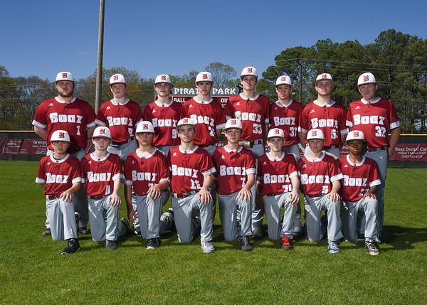 BMS Baseball Team 2017