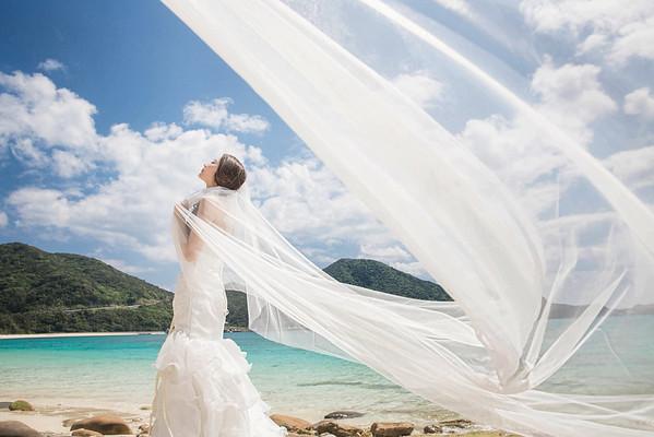 Pre-Wedding-沖繩-蛋蛋&彩咪