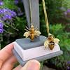 Vintage Bee Conversion Earrings 27