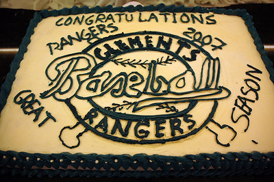 Clement's Rangers Baseball--End of the Year Banquet 2007