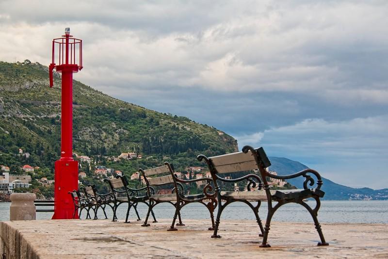 Dubrovnik Harbour Light, Croatia