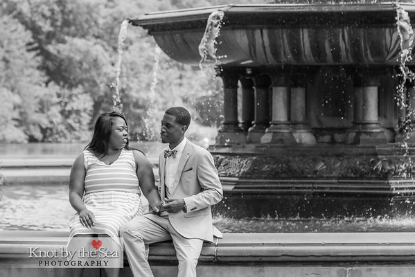 Latrisha & Jared Central Park Wedding