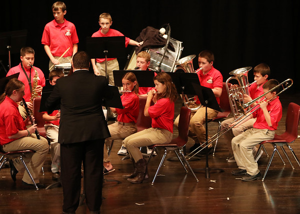 SNMS Band Fall Concert 2015