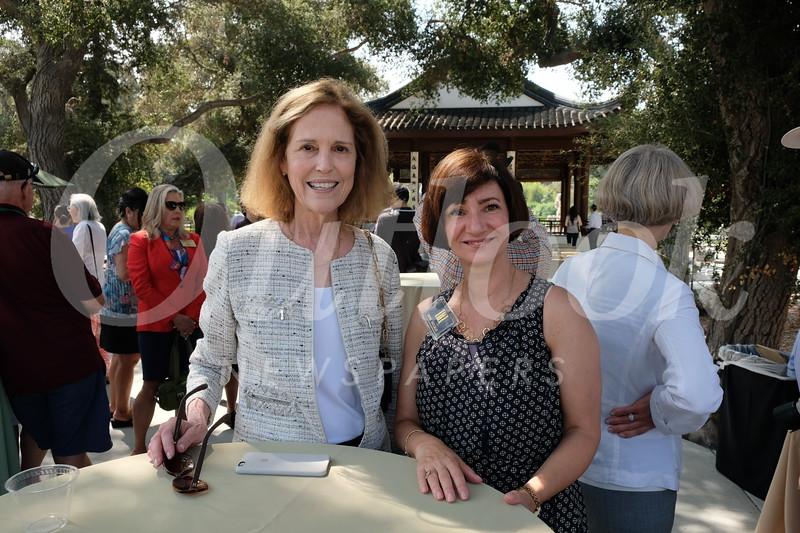 Peggy Galbraith and Mona Shulman