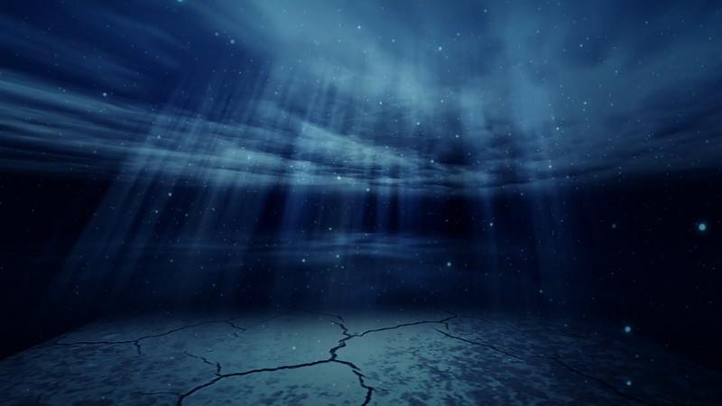 free underwater light background 30fps.mov