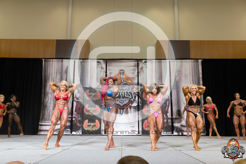 IFBB - Womens Bodybuilding - Prejudging