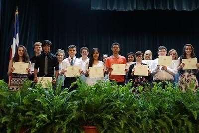 Junior High Awards