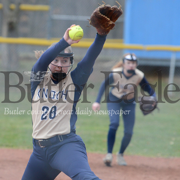 27574 Knoch vs Indiana section softball game at Laura Doerr Park Jefferson Twp