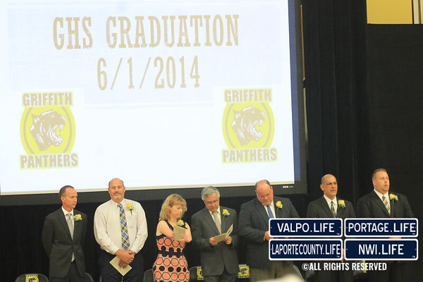 Griffith High School Graduation 2014