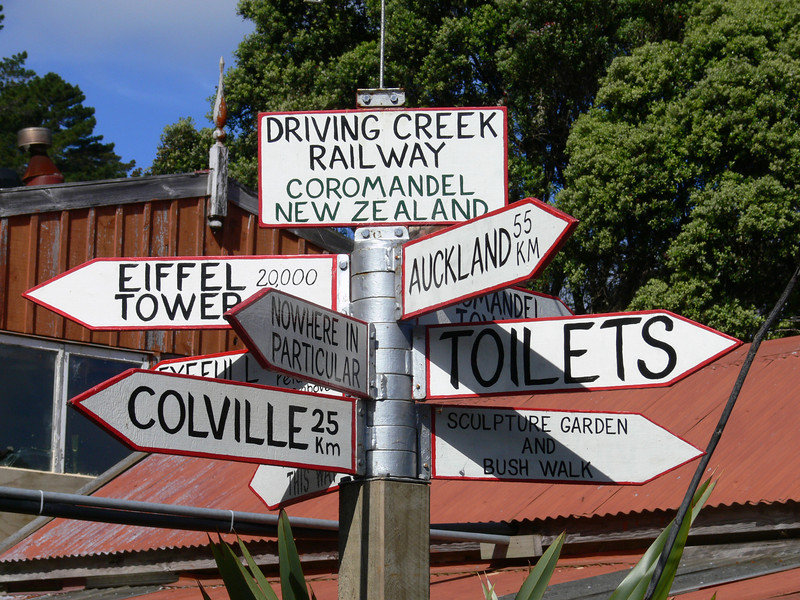 Which way home?, Driving Creek Railway