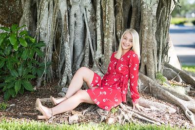 Charlotte's senior pictures
