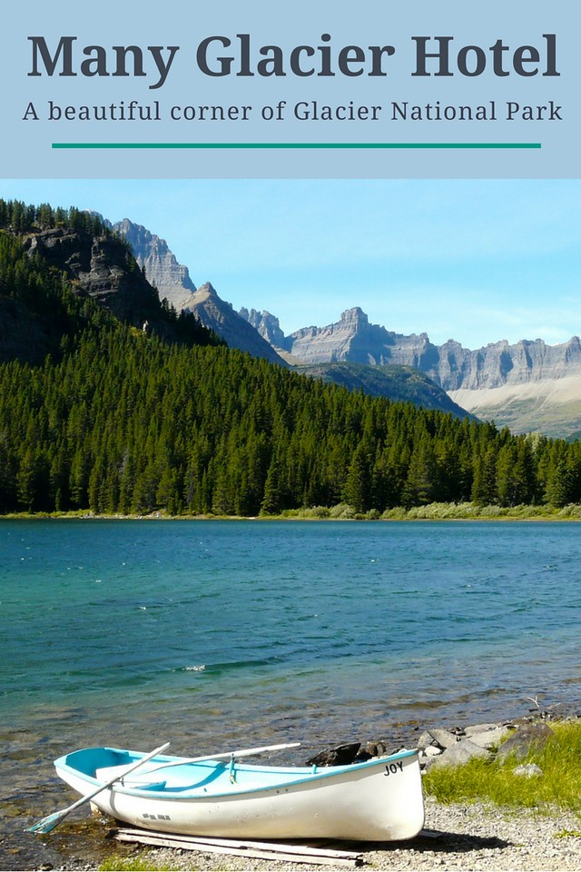 For access to great hiking, Boomer travelers will want to stay at Many Glacier Hotel on a trip to Glacier National Park in Montana.