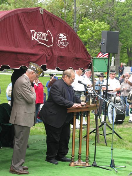 Rev. John Clemens, Resident,  Our Lady of Hope (Rosemont)
