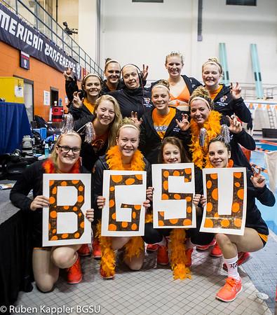 BGSU Women Swimming highlights