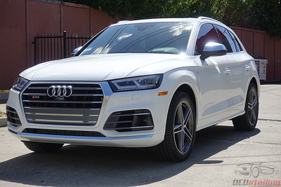 2018 Audi S Q5 - Ibis White