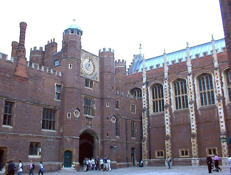 Hampton Court Palace with the Chapel