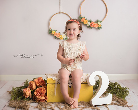Ella's Second Birthday Session