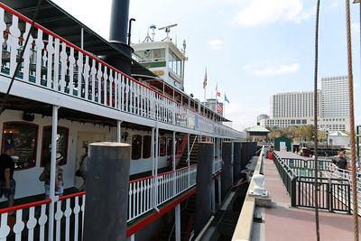 Natchez Paddle Wheel Boat Ride on Mississippi River - New Orleans, LA