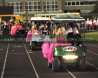 Griffith Homecoming Court 2013