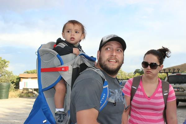 Rob, Candace & Ryder's Visit July 2014