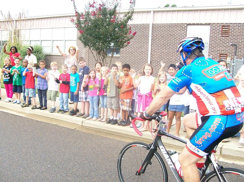 Jim at Greenbrook Elementary