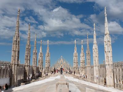 Milan and Bergamo 2012