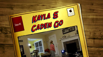 Kayla and Caden Go Wild 1-12-13