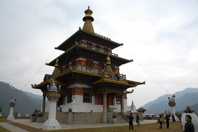 Thimpu, Bhutan - ICT Localisation Project for IDRC Canada - January 2007