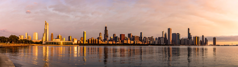Golden hour, Chicago