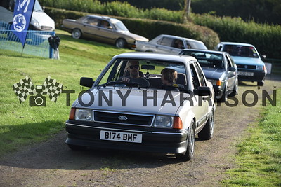 Retro Rides Gathering 2019 cars driving in 07.56-09.28am