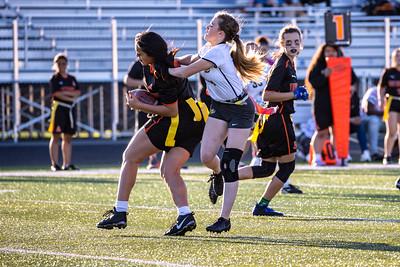 Flag Football - South Varsity vs West Varsity - 08312021