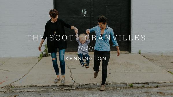 THE SCOTT-GRANVILLES ///// KENSINGTON