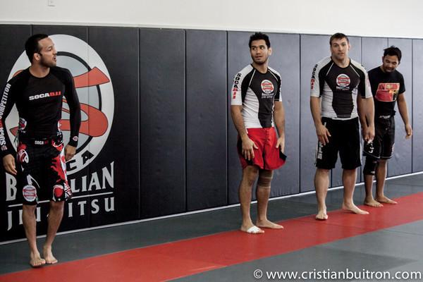 No Gi Training Soca BJJ (5 Black Belts)