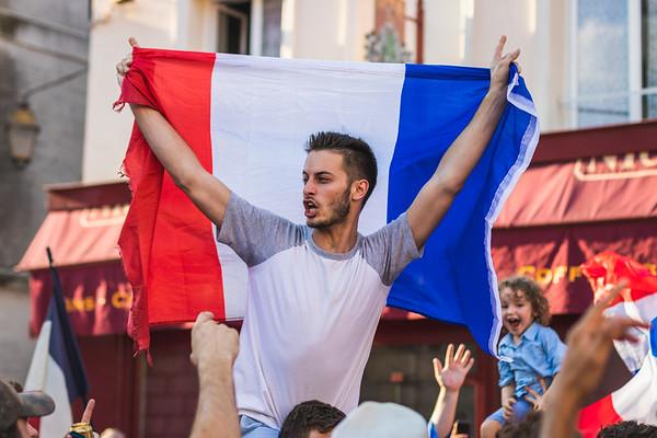 La France Championne du Monde à Rambouillet