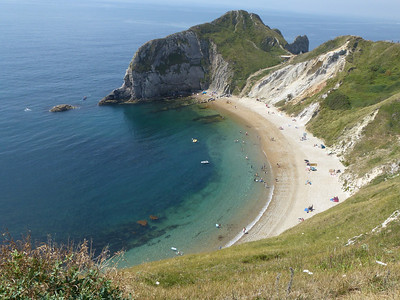 ENGLAND - Walk from Lulworth Cove to Durdle Door (Dorset