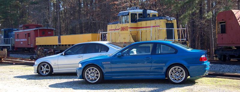 LSB M3 & Dropped TiAg Sedan Photoshoot March 2007