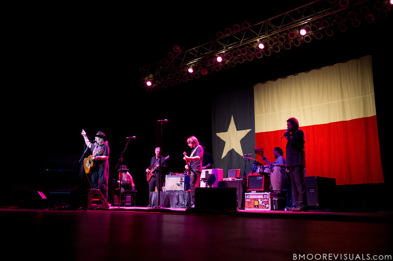 The Willie Nelson Family perform on February 17, 2011 at Van Wezel Performing Arts Hall in Sarasota, Florida