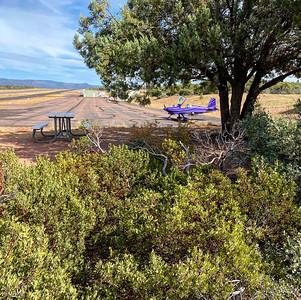 Camping at Payson, AZ