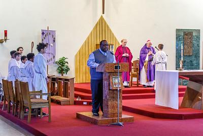 2019 Archbishop Visit - St. Gertrude Parish, Windsor