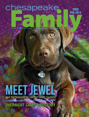 Chesapeake Family Magazine Cover