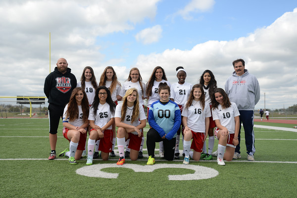 2015 Lady's Soccer Team