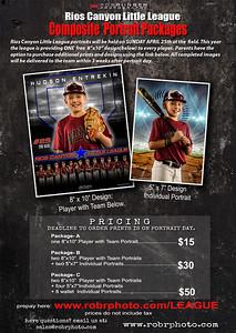Rios Canyon Little league Portrait Ordering