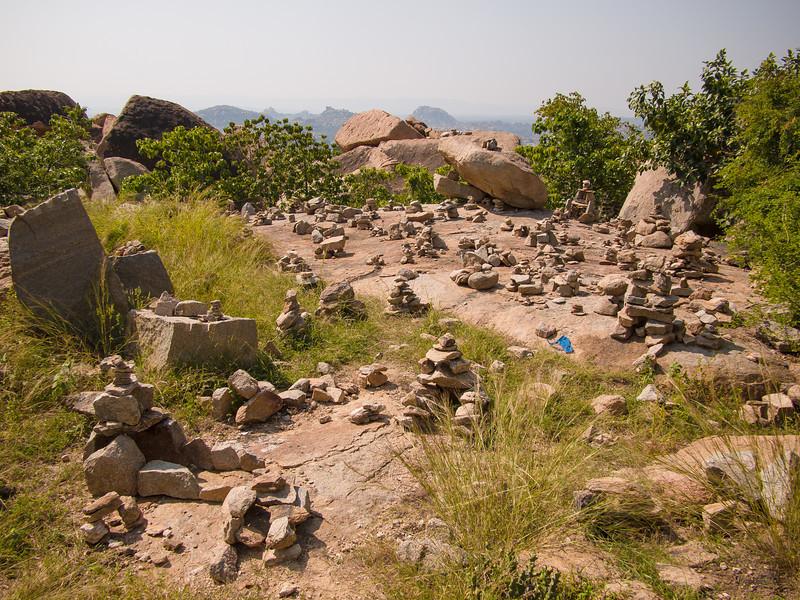 Hills just outside the Durga Temple, Anegundi.