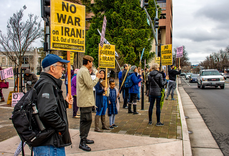 No War in Iran Santa Rossa  Bill Clark-8.jpg