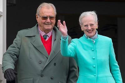 2017-04-16 - Dronningens 77 års fødselsdag