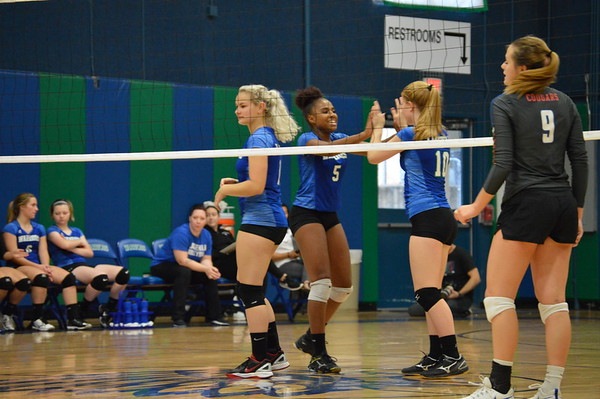 Varsity Volleyball vs Colleyville Covenant Sept. 11