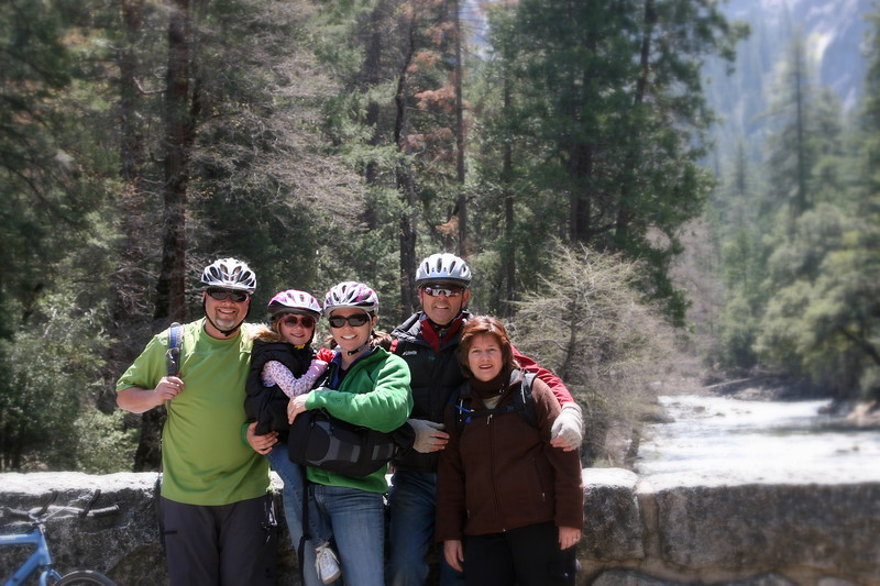 familyICA~ Photo By me (self timer) Yosemite 2007