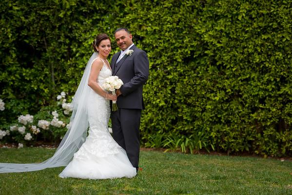 Esmy and David Wedding