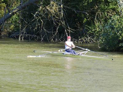 Pangbourne College Rowing Wallingford Long DIstance Sculls - Sept 2012